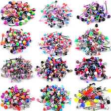 lot de 105 piercing percing melange arcade nombril labret langue nez revendeur