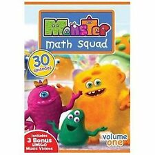 Monster Math Squad - Volume One - 30 Episodes,New DVD, Goo, Max, Lily, various