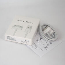 New Original OEM 30Pin USB Data Sync Cable Charger for iPhone 4 4S 3G 3GS iPod