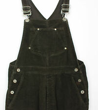 VTG LADIES BROWN GAP CORDUROY OVERALLS JUMPSUIT DUNGAREES 90s WOMENS FESTIVAL  M