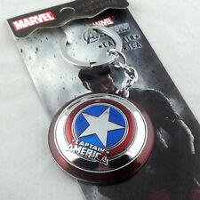 NEW Marvel Comics Captain America Shield Metal Keychain HOT Combine Shipping