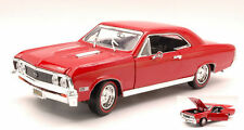 MOTORMAX 1967 CHEVY CHEVELLE SS 396 1/18 DIECAST CARS 73104AC-RD
