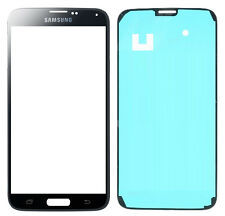 GENUINE Samsung Galaxy S5 i9600 i9605 Black Gorilla Glass Outer Screen Original