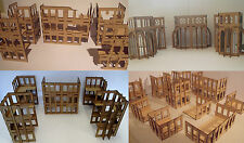 Commercial buildings city pack Wood scenery terrain warhammer 40k wargames