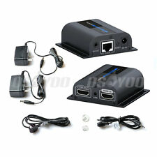 LKV372Pro HDMI Extender 60M 196FT Sender + Receiver w/ Loop-out IR Over Cat6 New