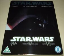 Star Wars Original Trilogy Blu Ray - UK Exclusive Vader Steelbook - New & Sealed