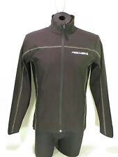 FISCHER MID LAYER JACKET SHOPKIT II-BLACK ATHLETIC  MENS SMALL CROSS COUNTRY