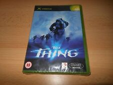 The Thing Microsoft Xbox NEW SEALED