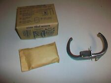 New Old Stock Ideal Bore Latch Aluminum Dull Finish No. 1121 DCD Door Handle