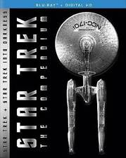 Star Trek: The Compendium (Blu-ray Disc, 2016, 4-Disc Set)