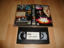 FINAL FANTASY LA FUERZA INTERIOR PELICULA EN VHS DEL AÑO 2001 EN BUEN ESTADO