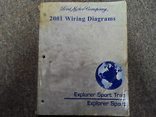 2001 Ford Explorer Sport Trac Wiring Electrical Diagram Service Shop Manual x