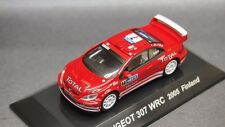 Kyosho Lv CM's 1/64 Rally Car PEUGEOT 307 WRC 2005 Finland CMs