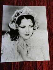 BILLIE DOVE  - BLACK AND WHITE-  8 X10 - PHOTOGRAPH