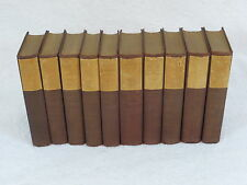 Lot of 10 RUDYARD KIPLING Mandalay Edition Set Doubleday Page & Co 1925