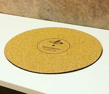 Cork turntable vinyl record platter mat