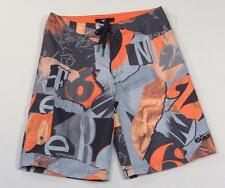 Nike 6.0 Orange Blaze Board Shorts Youth Boys 12 Waist 26 NWT