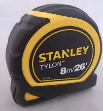 Stanley 8m/26ft Bolsillo Cinta Métrica Con Tylon 1-30-656 Nuevo