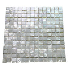 Oyster Mother of Peal Shell Mosaic Tile for Kitchen Backsplashes / Shower Walls