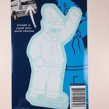 The Simpsons Grandpa Abe Simpson Car Window Sticker Decal Family 5""