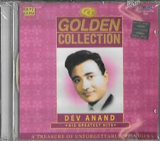 DEV ANAND - HIS GREATEST HITS - NEW BOLLYWOOD CD - FREE UK POST