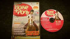 HORSE + PONY PC CD-ROM V.G.C. FAST POST ( simulation game )