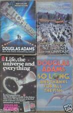 HITCHHIKER'S GUIDE TO THE GALAXY by DOUGLAS ADAMS ~ 4 PB BOOKS HHG