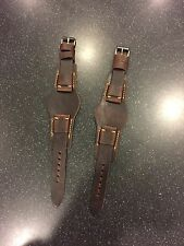 20mm Horween Vintage Distressed Bund Watch Strap