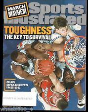 2001 Sports Illustrated MARCH MADNESS Duke ~ Arizona ~ Maryland ~ Michigan St.