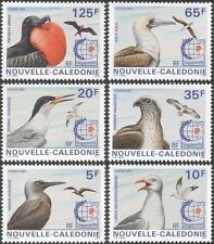 New Caledonia 1995 Gulls/Tern/Osprey/Raptors/Birds/Nature/StampEx 6v set n44075