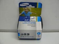 NEW SAMSUNG CLP-C300A CYAN TONER CARTRIDGE