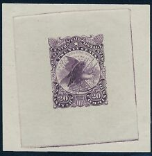 #WV12TC5 TRIAL COLOR PROOF ON WOVE PAPER IMPERF BQ9894