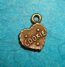 Pendant Cookie Charm Baking Charm Chef Charm Baker Charm Bronze Cooking Charm