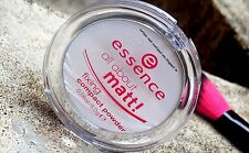 Essence All About Matt Fixing Compact Transparent Pressed Powder Oil Control 8g