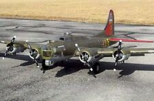 B-17 Flying Fortress 78inch WS  scratch build R/c Plane Plans & Patterns