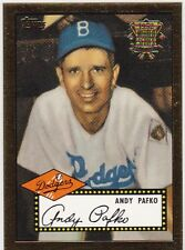 2002 Topps 1952 Reprints #52R4 Andy Pafko