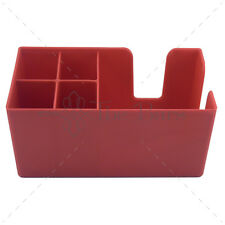 Bar caddy porte serviettes pailles bar rouge- matériel barman