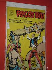 PECOS BILL FORMATO ALBO D'ORO N° 33  b-1953-51 ep- 2° SERIE-eroe texas mondadori