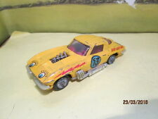 VINTAGE CORGI CHEVROLET CORVETTE STINGRAY # 13 GO-GO PLAYED WITH FOR RESTORATION
