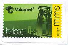 BRISTOL VELOPOST Bicycle post  - mms Letter Stamp (Used)