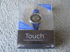 Brand New Oregon Scientific SE338M Gaiam Touch Strapless Heart Rate Monitor