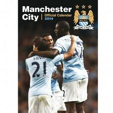 Manchester City FC 2014 Calender English Premier League MAN City new Sky Blues