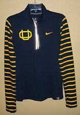 NWT WOMENS M NIKE DRI-FIT OREGON DUCKS UO WEBFOOTS ELEMENT SHIRT 1/4 ZIP LS $70