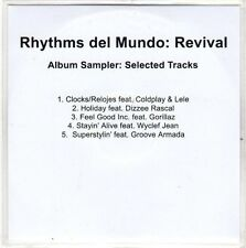 (EO317) Rhythms Del Mundo: Revival sampler - 2010 DJ CD