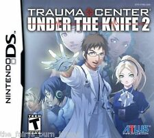 Trauma Center Under The Knife 2 Brand New Sealed Nintendo DS NDS UK Seller
