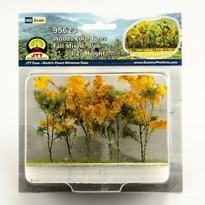 "JTT Scenery Products Fall Mixed Woods Edge Trees HO-Scale 3""- 3.5"" 9/pk 95623"