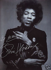 JIMI HENDRIX AUTOGRAPH SIGNED PP PHOTO POSTER