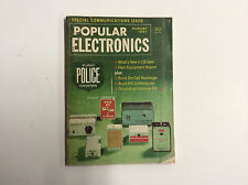 Vintage Popular Electronics Magazine - Special Communications Issue August 1967