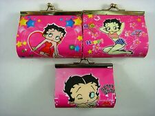 NEW Betty Boop Kids Girls Children Coins Purse Money Pouch Bag + Pendant