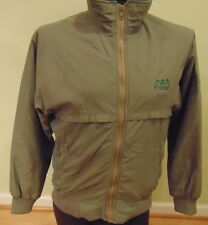 Men's Cabelas Polartec Vinery Outdoor Tan Jacket (M) 100% Poly